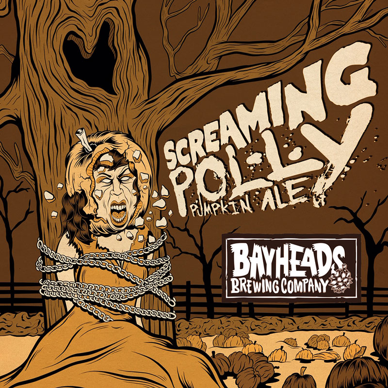 Screaming Polly Beer - Pumpkins and the Ghost of Screaming Polly